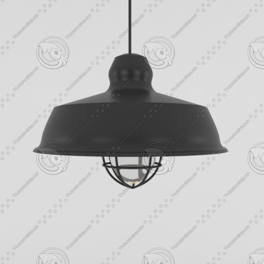 Черный винтажный свет royalty-free 3d model - Preview no. 1