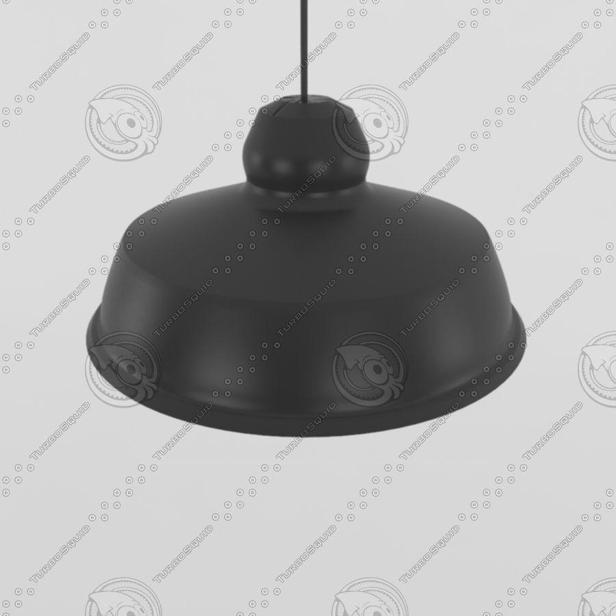 Черный винтажный свет royalty-free 3d model - Preview no. 3