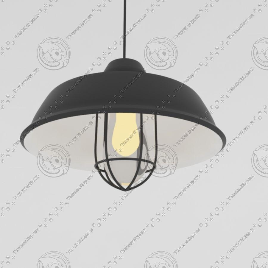 Черный винтажный свет royalty-free 3d model - Preview no. 2