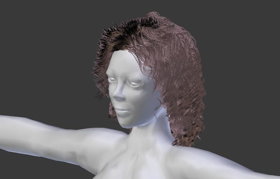 Woman Rigged royalty-free 3d model - Preview no. 13