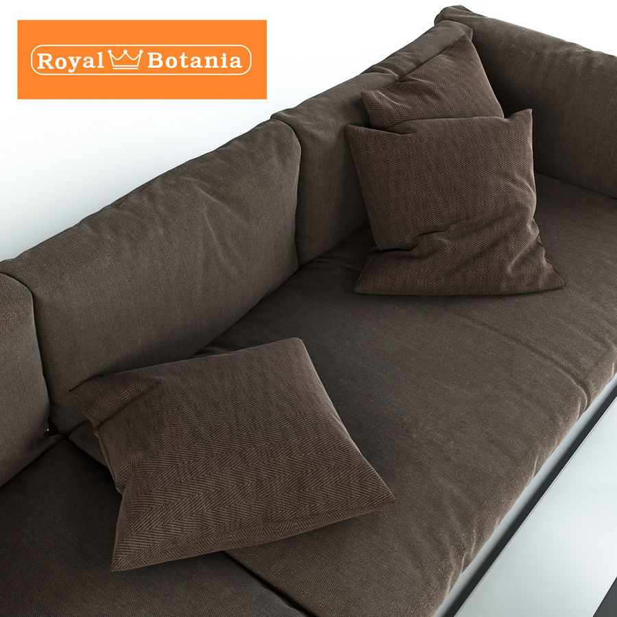 Sofa royalty-free 3d model - Preview no. 6