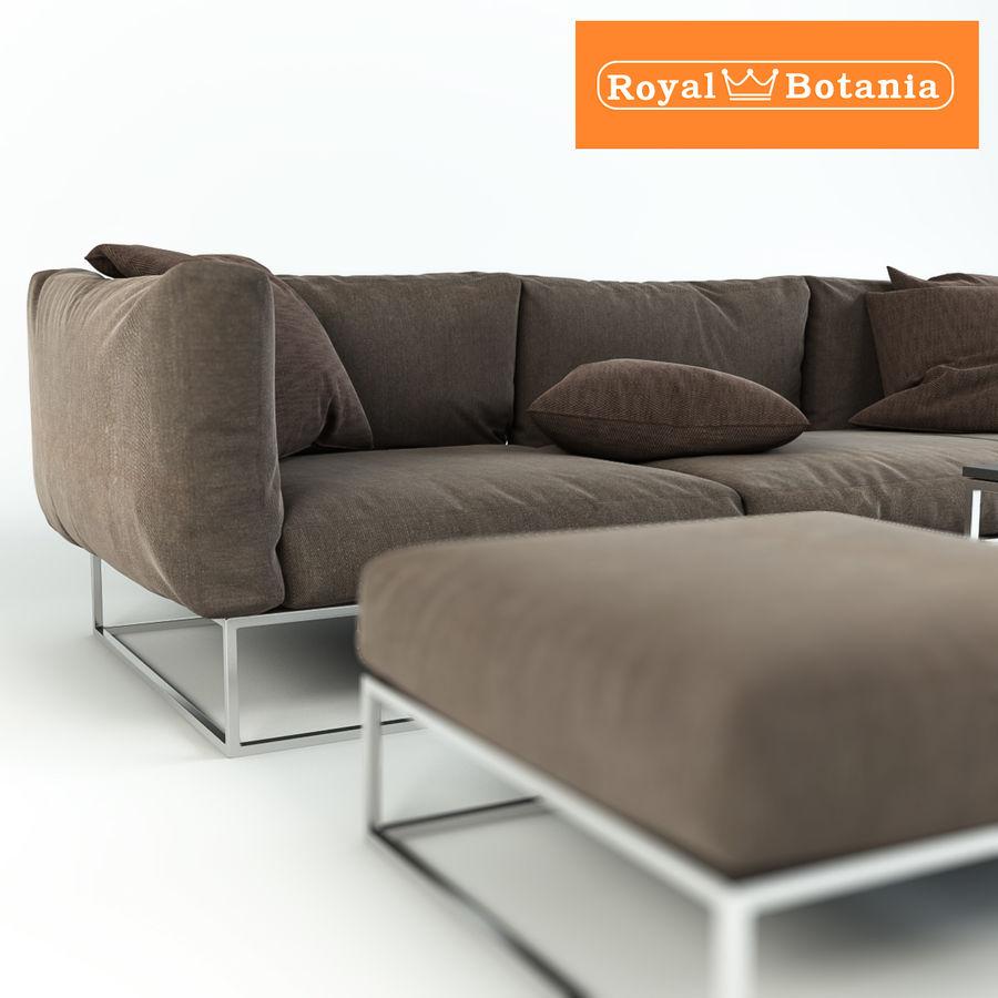 Sofa royalty-free 3d model - Preview no. 3