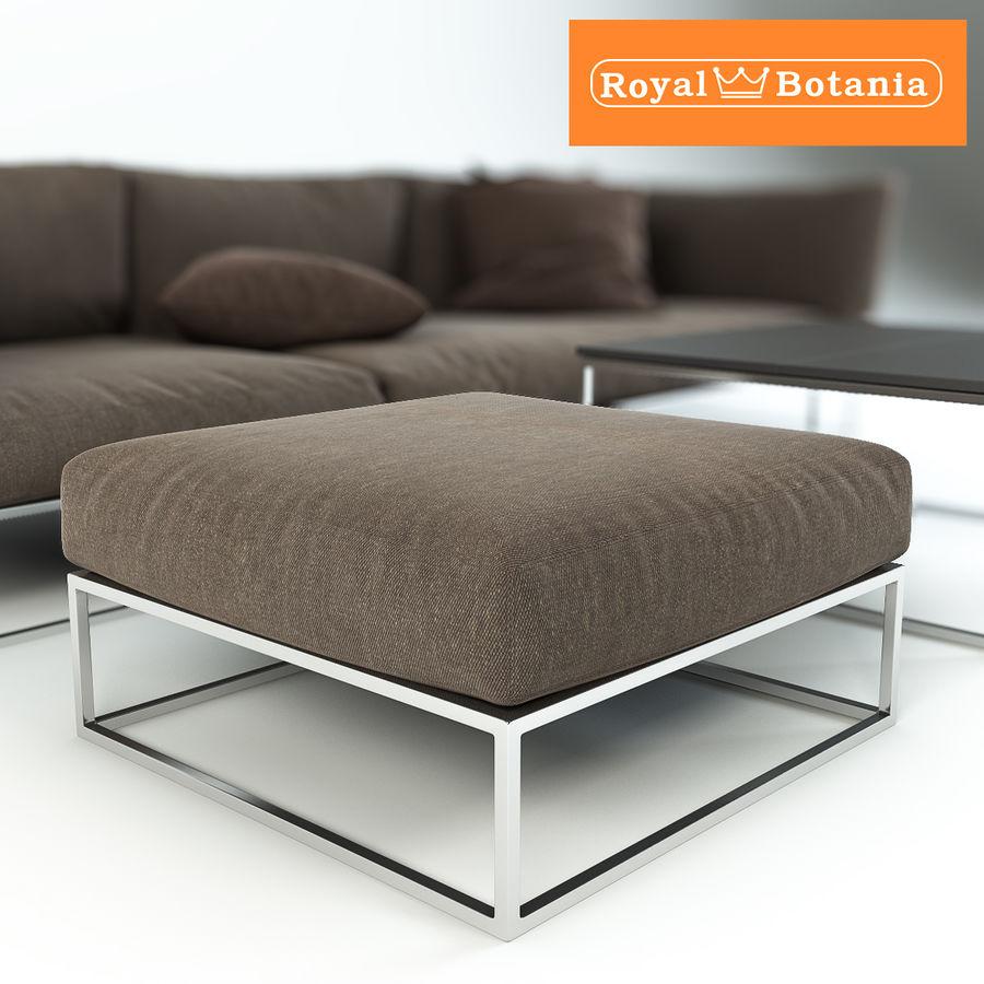 Sofa royalty-free 3d model - Preview no. 7