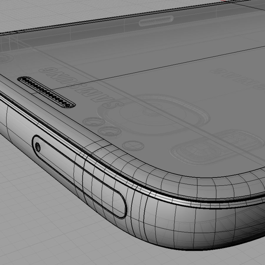 Samsung Galaxy S7 royalty-free 3d model - Preview no. 18