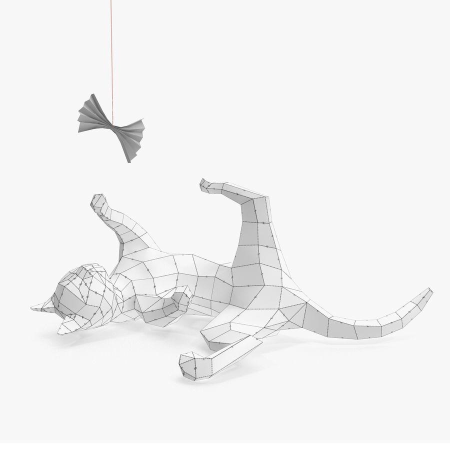 猫纸 royalty-free 3d model - Preview no. 6