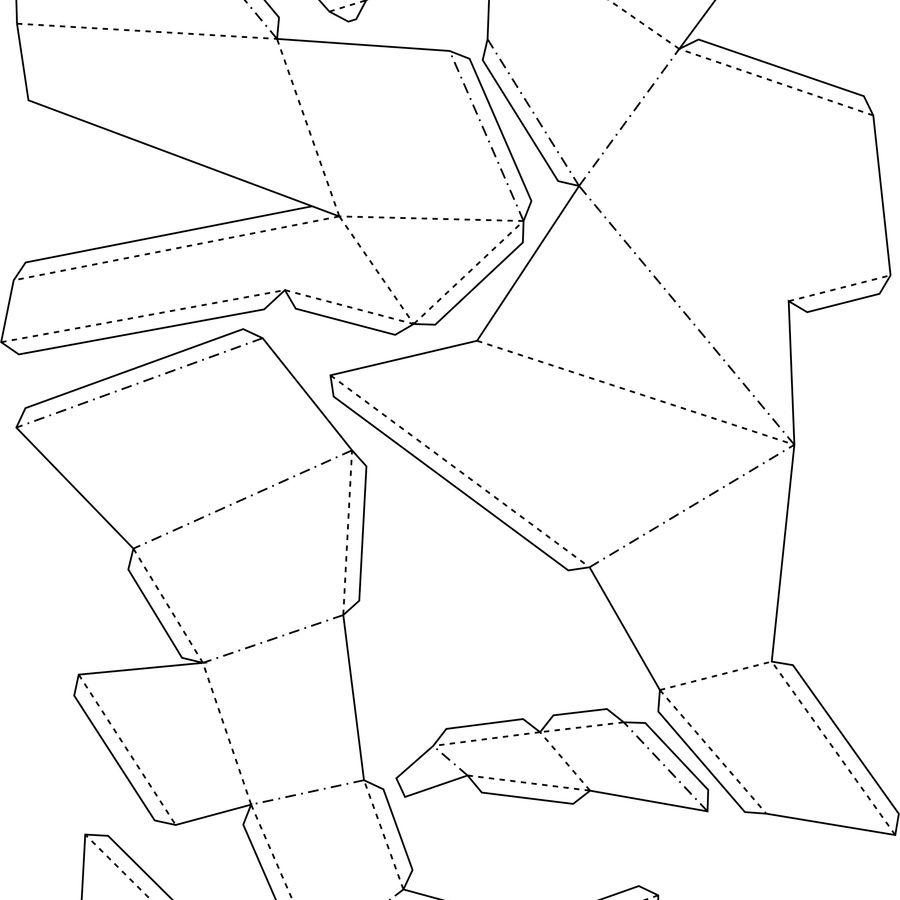 猫纸 royalty-free 3d model - Preview no. 14