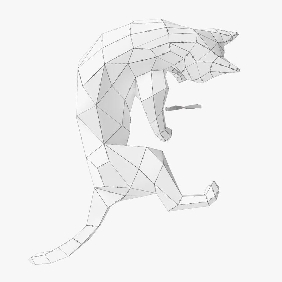 猫纸 royalty-free 3d model - Preview no. 10
