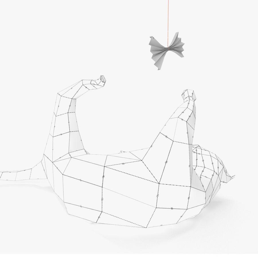 猫纸 royalty-free 3d model - Preview no. 8