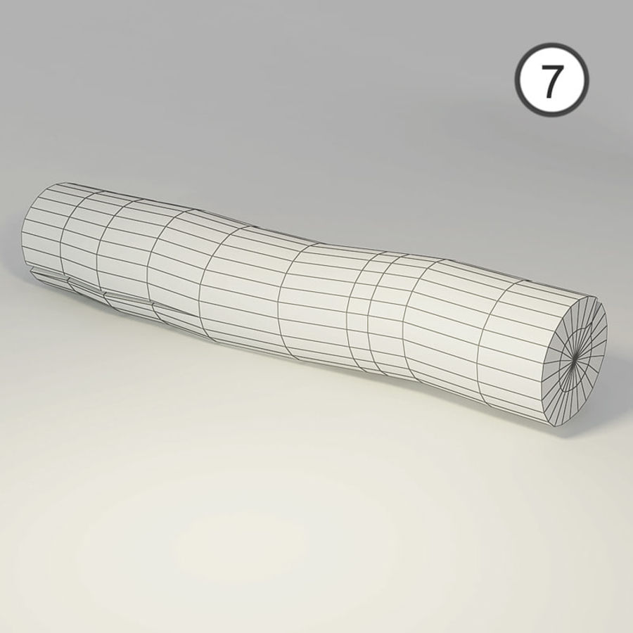 set van houten logs royalty-free 3d model - Preview no. 18