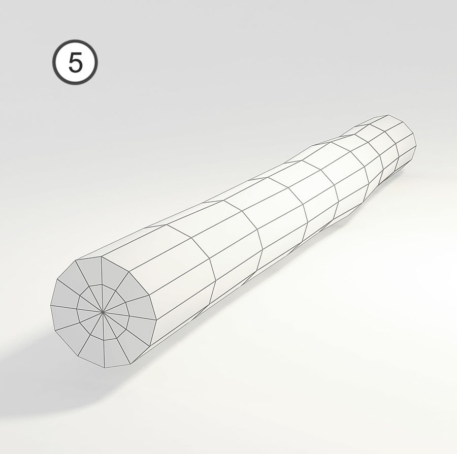 set van houten logs royalty-free 3d model - Preview no. 14