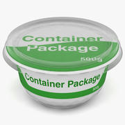 Container-Paket 3d model