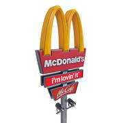 McDonald's Pylon 3d model