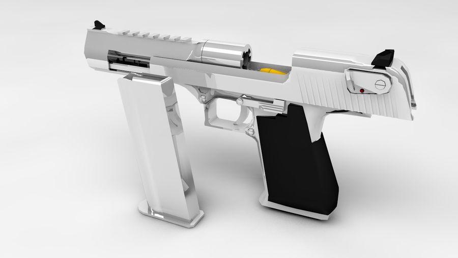 Aigle du désert royalty-free 3d model - Preview no. 3