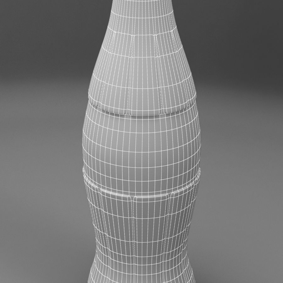 Coke royalty-free 3d model - Preview no. 6