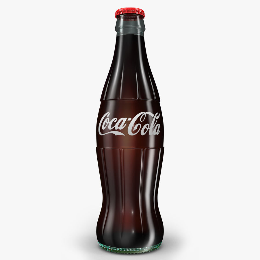 Coke royalty-free 3d model - Preview no. 1