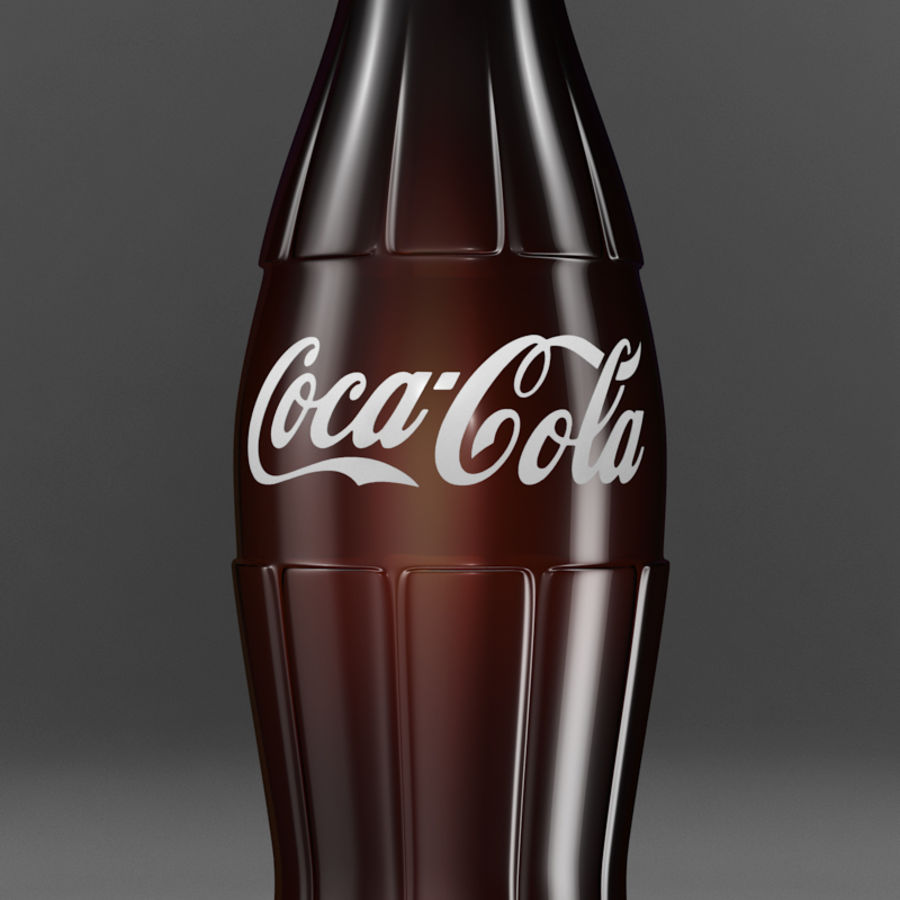 Coke royalty-free 3d model - Preview no. 2