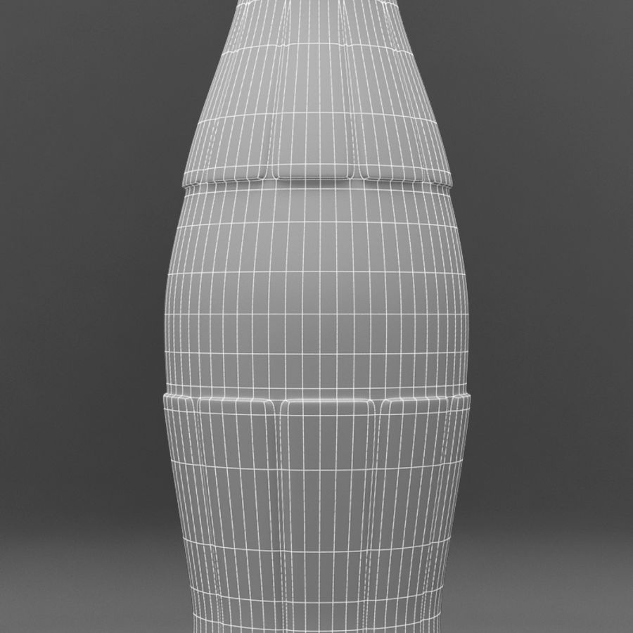 Coke royalty-free 3d model - Preview no. 5