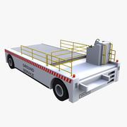 空港貨物ローダー 3d model