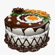 torta succosa (1) 3d model