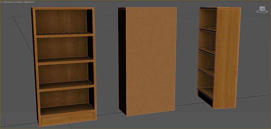 Colección de muebles de oficina royalty-free modelo 3d - Preview no. 11