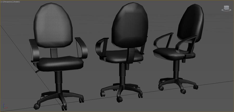Colección de muebles de oficina royalty-free modelo 3d - Preview no. 7