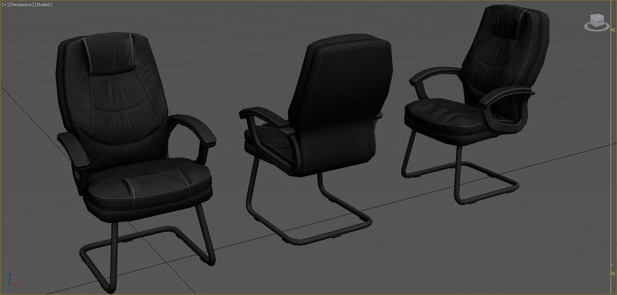Colección de muebles de oficina royalty-free modelo 3d - Preview no. 35