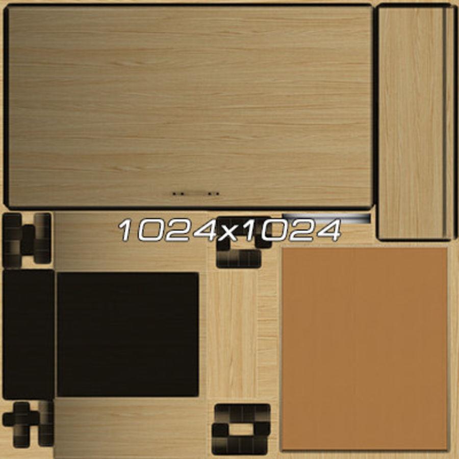 Colección de muebles de oficina royalty-free modelo 3d - Preview no. 107