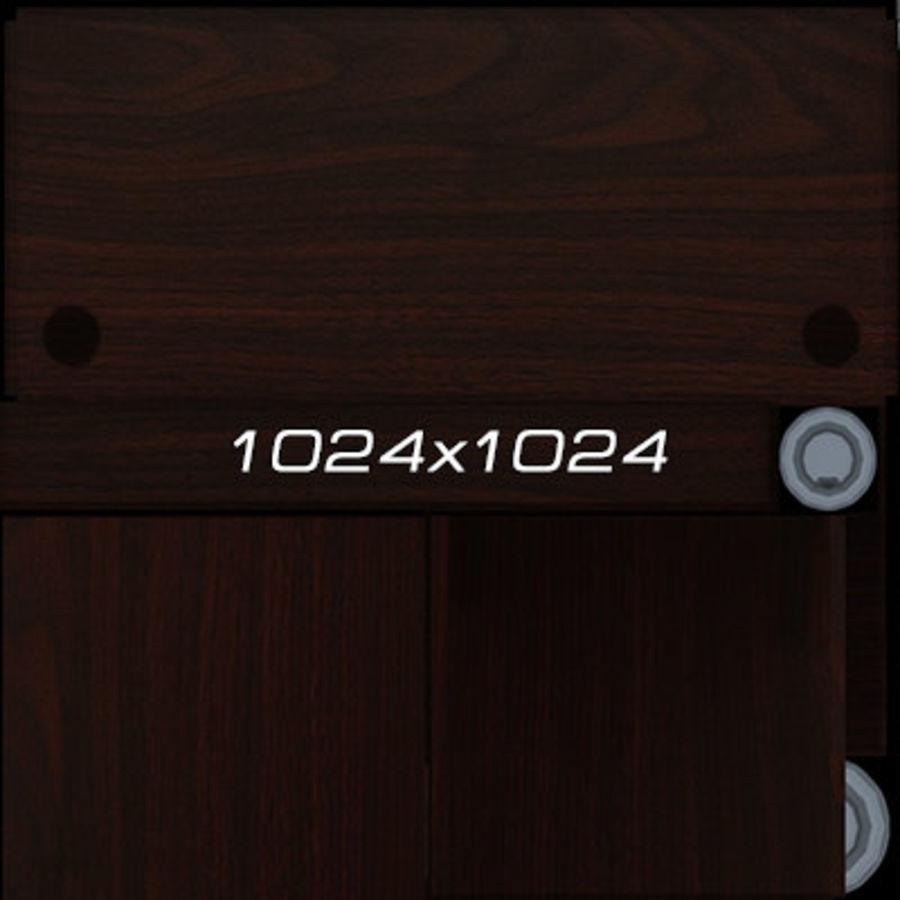 Colección de muebles de oficina royalty-free modelo 3d - Preview no. 92