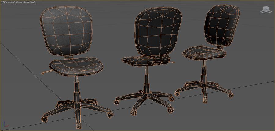 Colección de muebles de oficina royalty-free modelo 3d - Preview no. 5