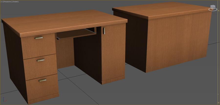 Colección de muebles de oficina royalty-free modelo 3d - Preview no. 42