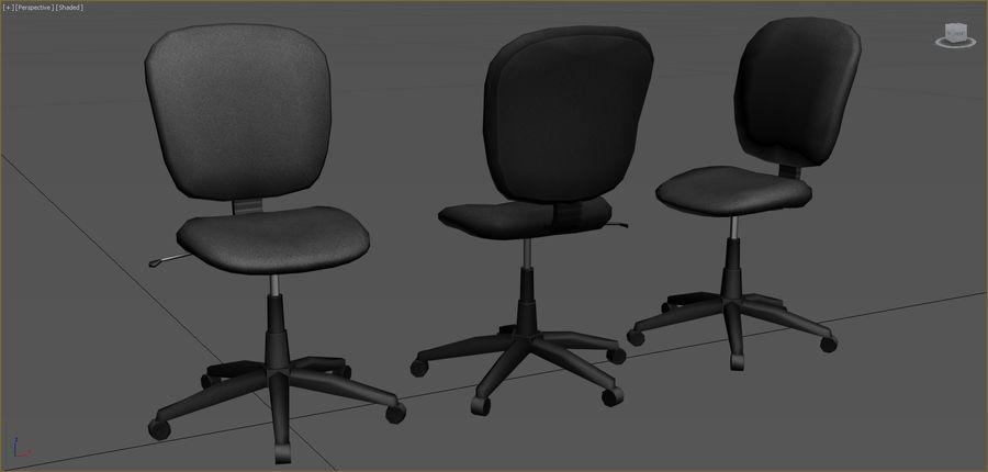 Colección de muebles de oficina royalty-free modelo 3d - Preview no. 4