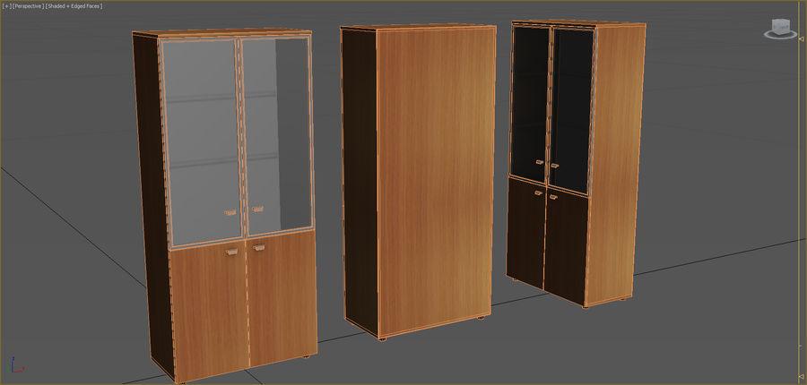 Colección de muebles de oficina royalty-free modelo 3d - Preview no. 14