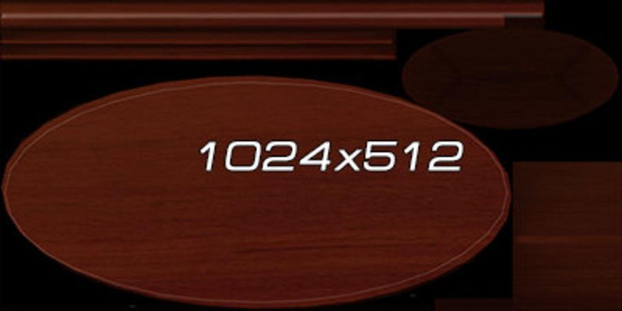 Colección de muebles de oficina royalty-free modelo 3d - Preview no. 86