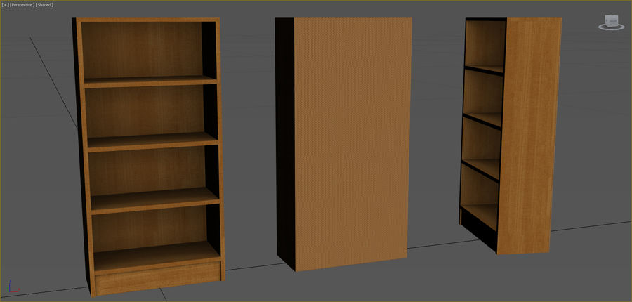 Colección de muebles de oficina royalty-free modelo 3d - Preview no. 10