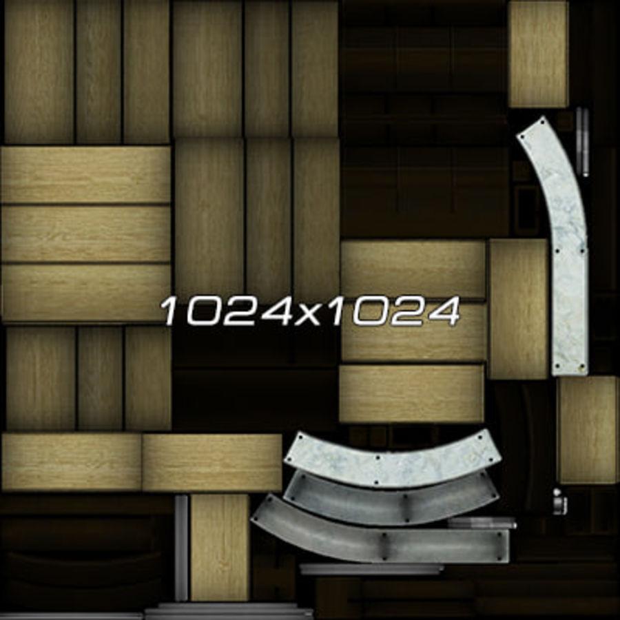 Colección de muebles de oficina royalty-free modelo 3d - Preview no. 74