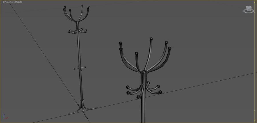 Colección de muebles de oficina royalty-free modelo 3d - Preview no. 60