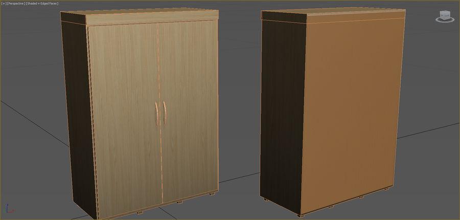 Colección de muebles de oficina royalty-free modelo 3d - Preview no. 106