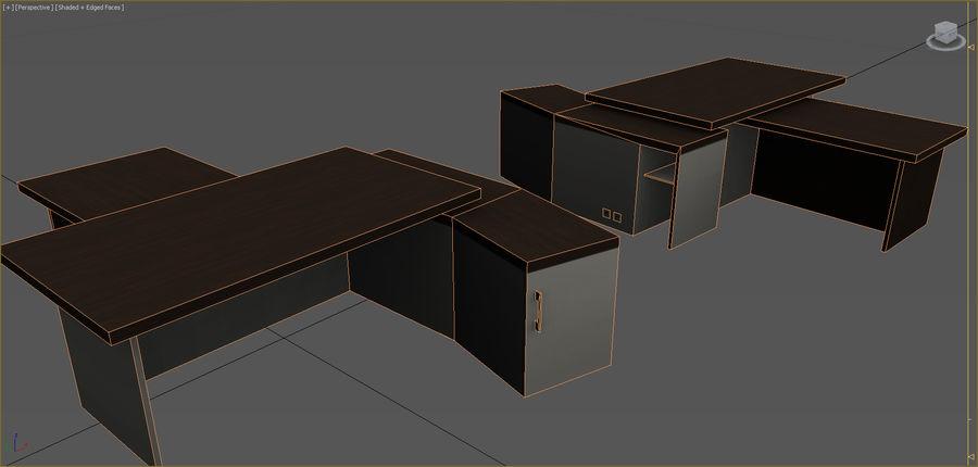 Colección de muebles de oficina royalty-free modelo 3d - Preview no. 97