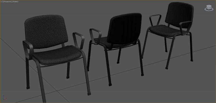 Colección de muebles de oficina royalty-free modelo 3d - Preview no. 28