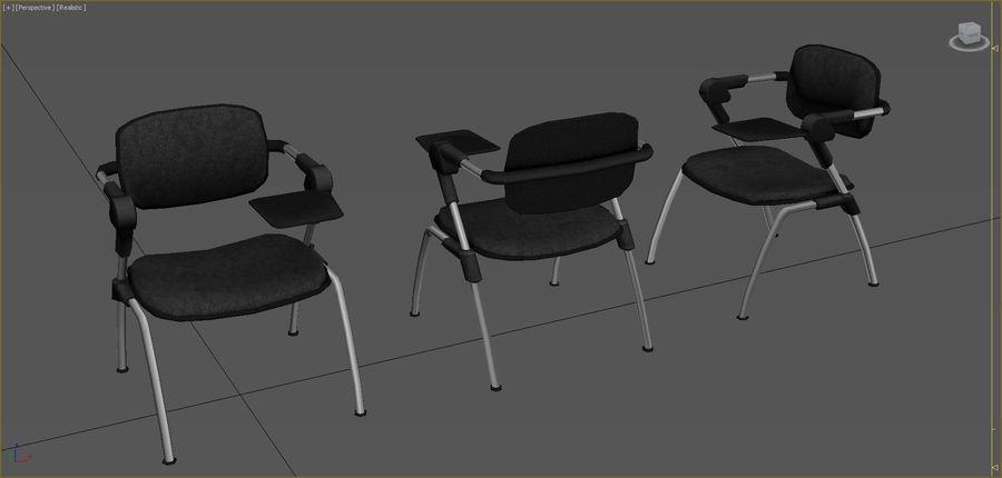 Colección de muebles de oficina royalty-free modelo 3d - Preview no. 34
