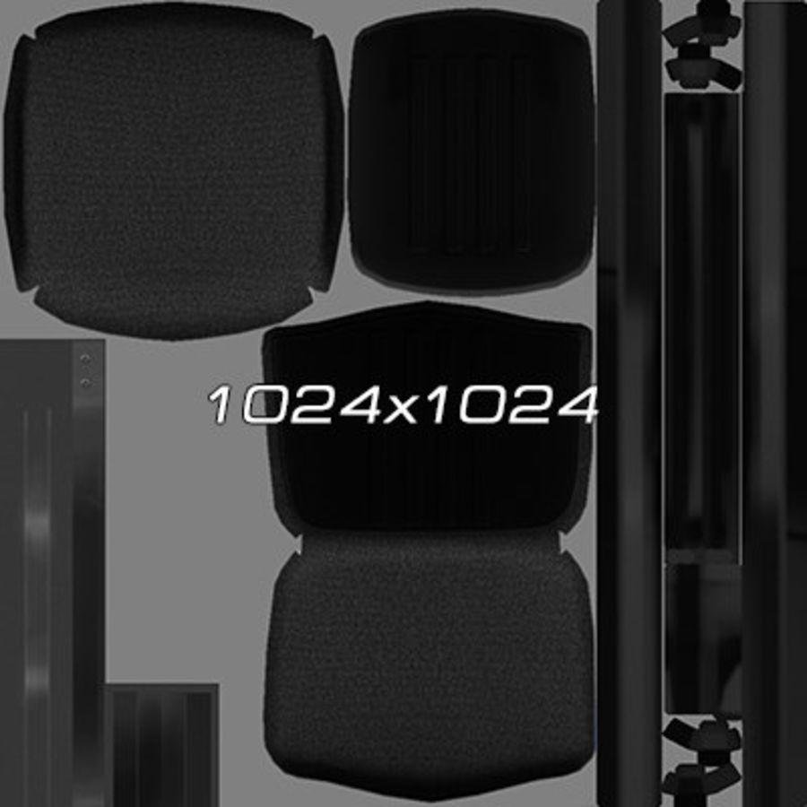 Colección de muebles de oficina royalty-free modelo 3d - Preview no. 30