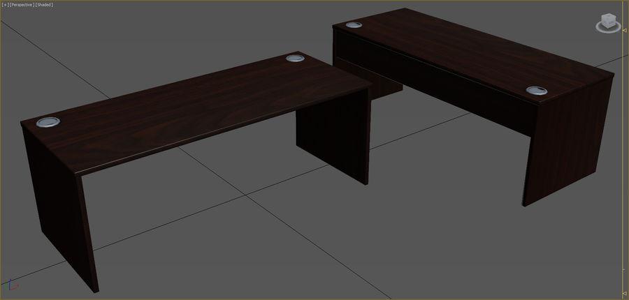 Colección de muebles de oficina royalty-free modelo 3d - Preview no. 90