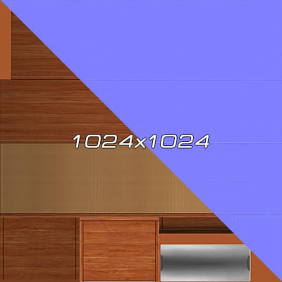 Colección de muebles de oficina royalty-free modelo 3d - Preview no. 110