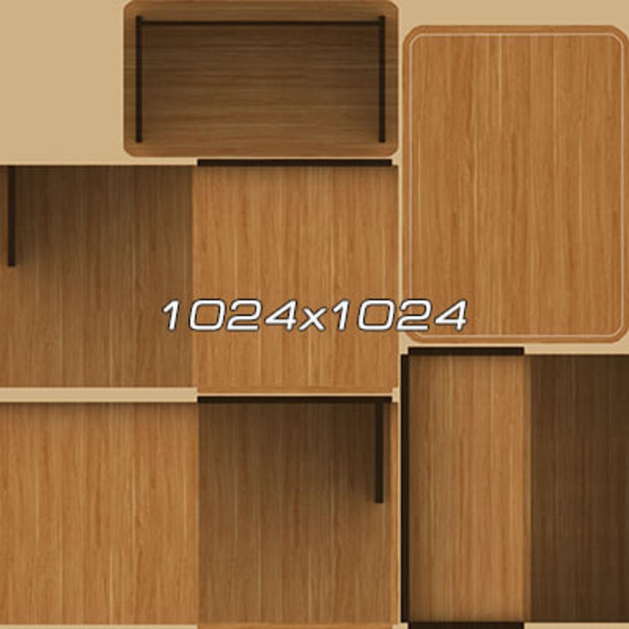 Colección de muebles de oficina royalty-free modelo 3d - Preview no. 101