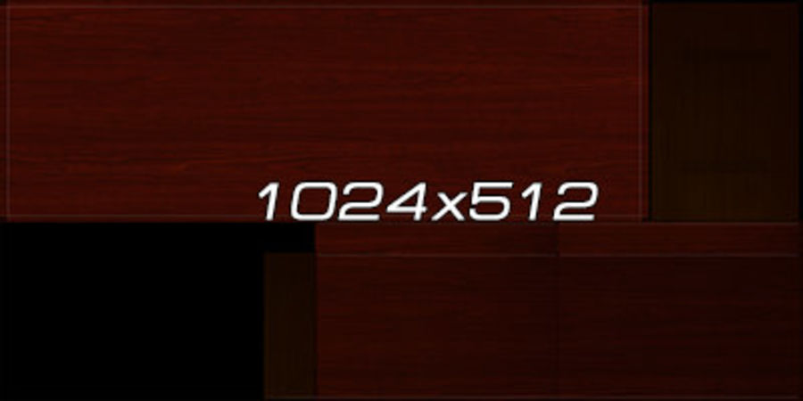 Colección de muebles de oficina royalty-free modelo 3d - Preview no. 89