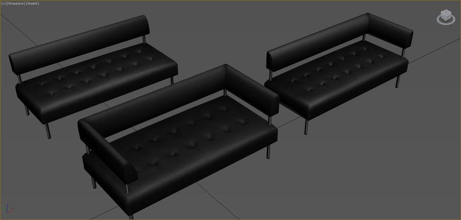 Colección de muebles de oficina royalty-free modelo 3d - Preview no. 81
