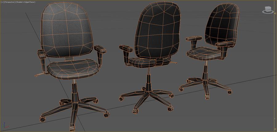Colección de muebles de oficina royalty-free modelo 3d - Preview no. 3