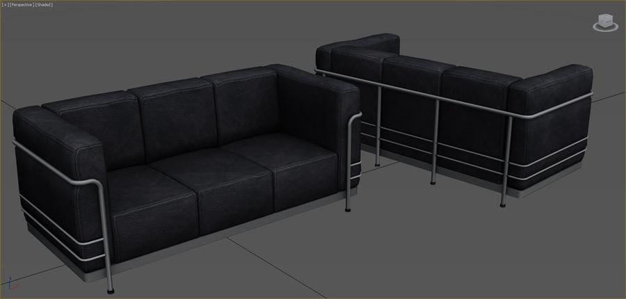 Colección de muebles de oficina royalty-free modelo 3d - Preview no. 75
