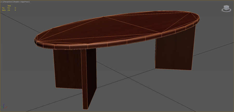 Colección de muebles de oficina royalty-free modelo 3d - Preview no. 85