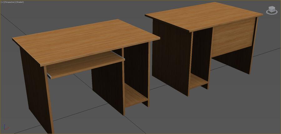 Colección de muebles de oficina royalty-free modelo 3d - Preview no. 93